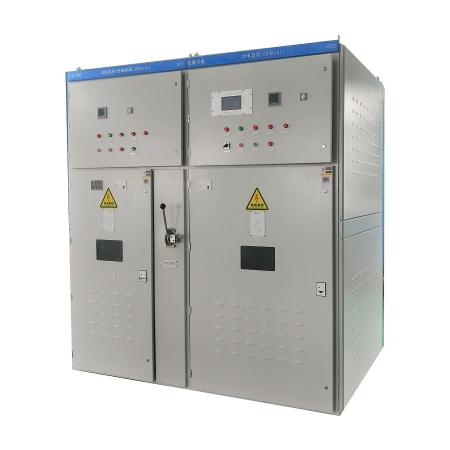 Medium voltage power factor control panel